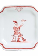 """Juliska Country Estate Winter Frolic Reindeer Games """"Santa"""" Plate"""