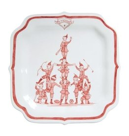 "Juliska Country Estate Winter Frolic Reindeer Games ""The Coaches"" Plate"
