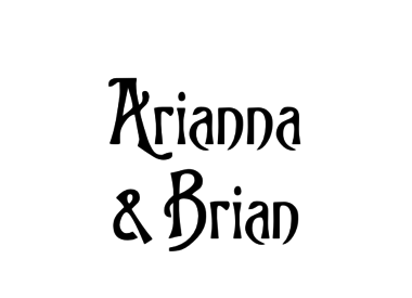 Arianna Welch & Brian Buckley