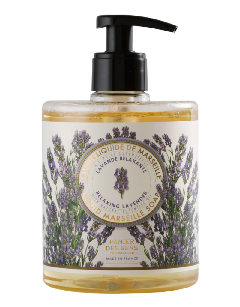 Relaxing Lavender Liquid Marseille Soap