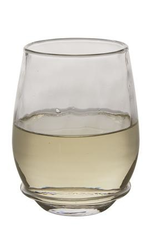 Juliska Carine Stemless White Wine Glass