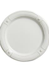 Juliska Berry & Thread French Panel White Dinner Plate