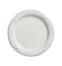 Juliska Berry & Thread French Panel White Dinner Plate