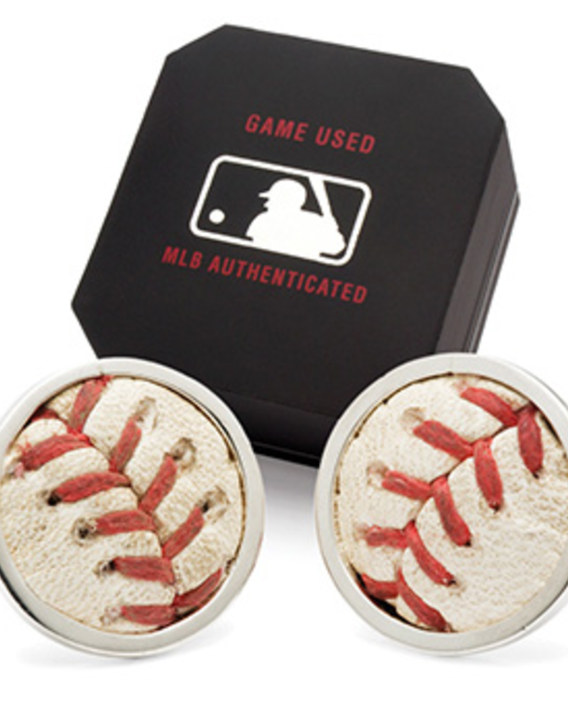 White Sox MLB Authenticated Game Used Cuff Links