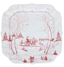 Juliska Country Estate Winter Frolic: Santa's Cookie Tray
