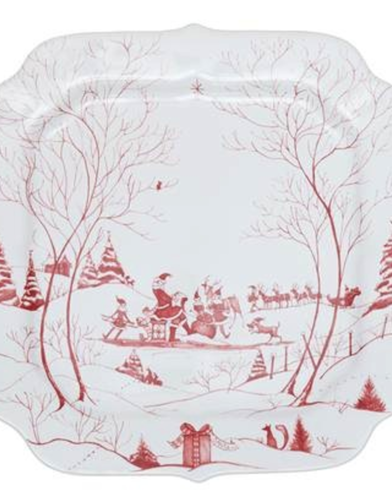 Juliska Country Estate Winter Frolic: Santa's Cookie Tray
