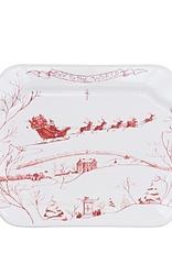 Juliska Country Estate: Winter Frolic Gift Tray: Joy To the World