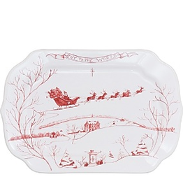 Juliska Country Estate: Winter Frolic Gift Tray: Joy To the World