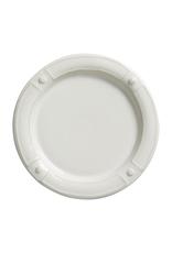Juliska Berry & Thread French Panel Whitewash Dessert/ Salad Plate