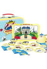 Madeline 24-Piece Tin Tea Set in Suitcase