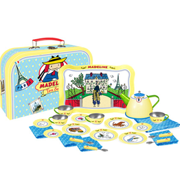 Madeline 24-Piece Tin Tea Set in Suitcase