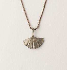 Gingko Single Leaf Pendant