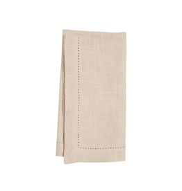 KAF Group Hemstitch Napkin in Flax