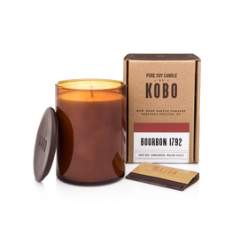 Bourbon 1792 Soy Candle (Aged Oak, Sandalwood, and Malted Violet)