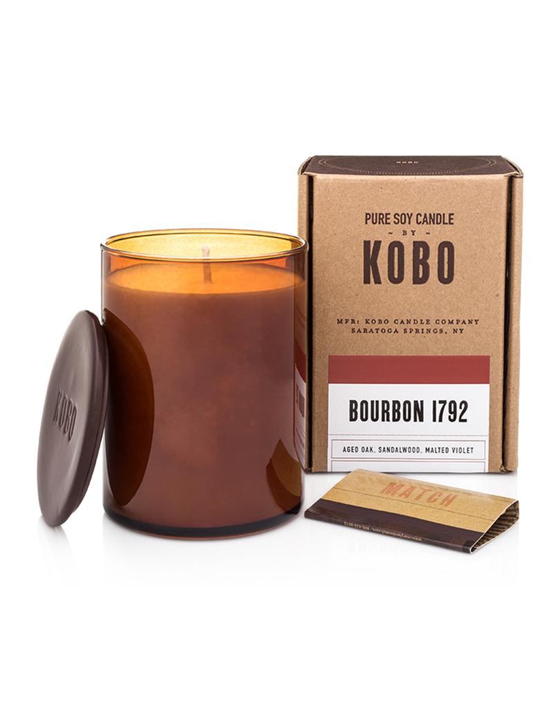 Bourbon 1792 Soy Candle (Aged Oak, Sandalwood, and Malted Violet)