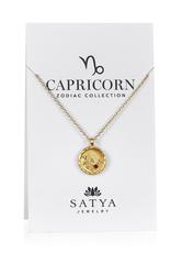 Capricorn Zodiac Gold Necklace