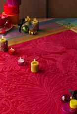Garnier-Thiebaut Isaphire Rubis Tablecloth 69 x 120