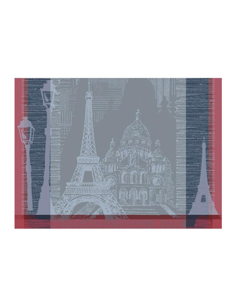 Garnier-Thiebaut Parisienne Ardoise Placemat 22 x 16