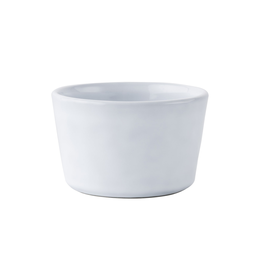 Juliska Juliska Quotidien Collection stoneware ramekin in white truffle
