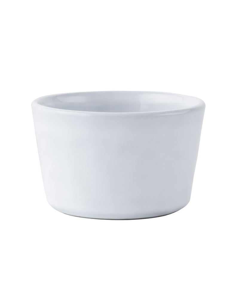 Juliska Juliska Quotidien Collection stoneware ramekin in white truffle