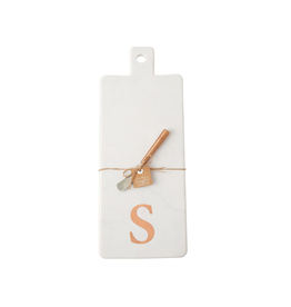S Initial Copper & Marble Board