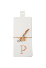 P Initial Copper & Marble Board