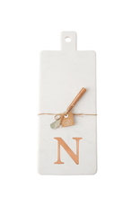 N Initial Copper & Marble Board