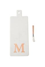 M Initial Copper & Marble Board