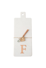 F Initial Copper & Marble Board