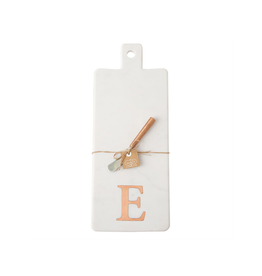 E Initial Copper & Marble Board