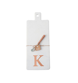 K Initial Copper & Marble Board