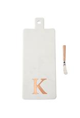 K Initial Copper & Marble Board