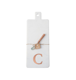 C Initial Copper & Marble Board