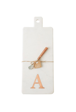 A Initial Copper & Marble Board