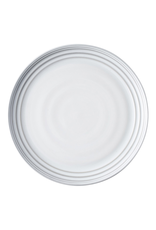 "Juliska Bilbao White Truffle Dinner Plate 11"" W"
