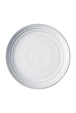 "Juliska Bilbao White Truffle Dessert/Salad Plate 9""W"