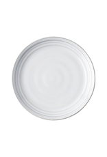 "Juliska Bilbao White Truffle Side/Cocktail Plate 7.5""W"