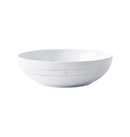 Juliska Berry and Thread Melamine Whitewash Serving Bowl