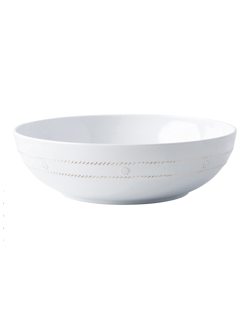Juliska Berry and Thread Melamine Whitewash Serving Bowl