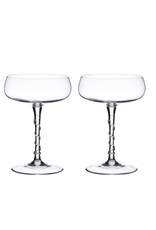 Juliska Amalia Champagne Coupe Set/2