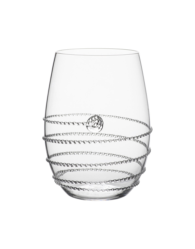 Juliska Amalia Stemless White Wine Glass