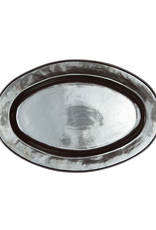 Juliska Pewter Large Oval Platter