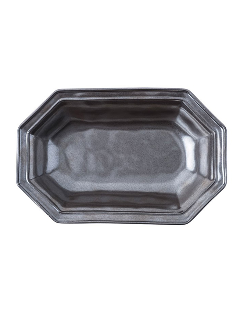 Juliska Pewter Octagonal Serving Bowl