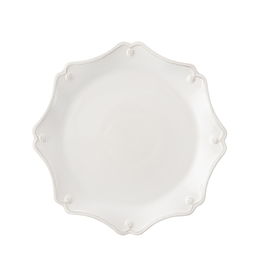 Juliska Berry and Thread Scallop Charger/Server Plate Whitewash