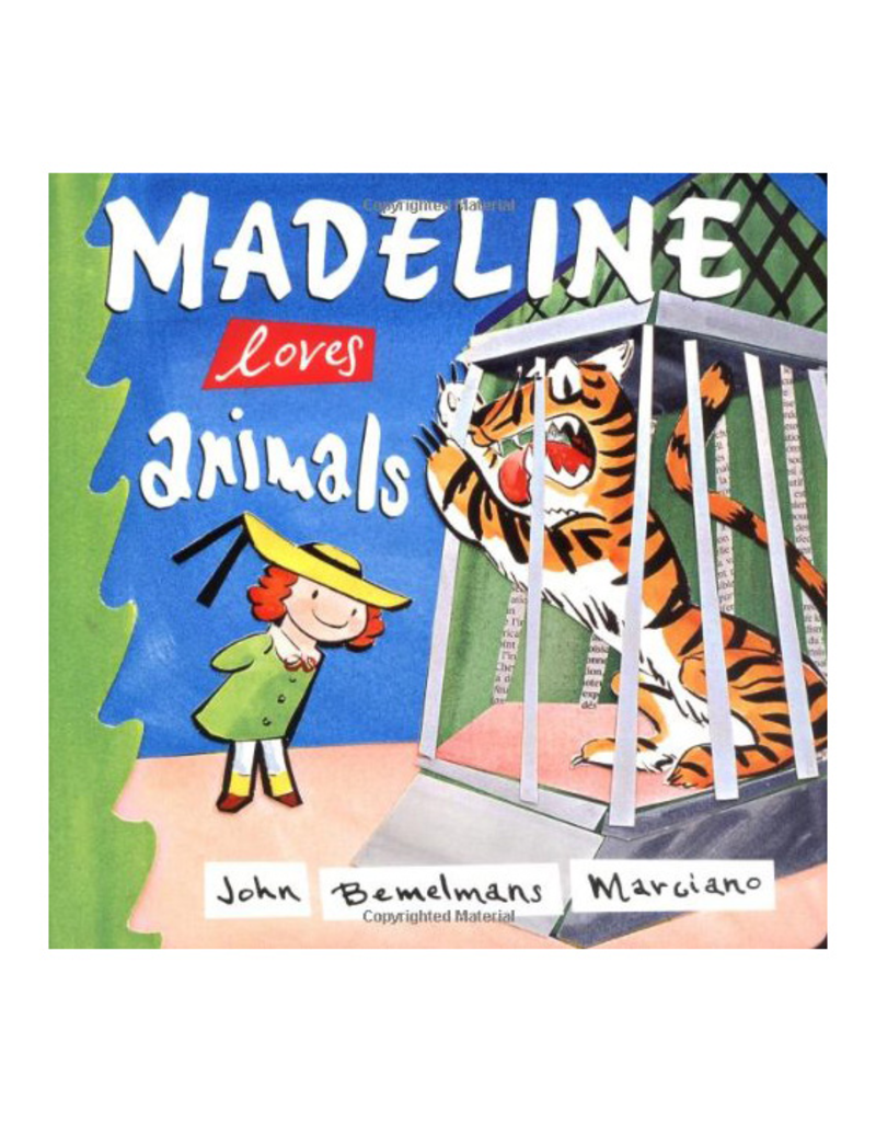 Madeline Loves Animals Board Book