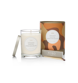 Smoked Santel Soy Candle
