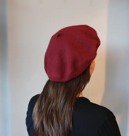 "Berets Limited ""Esme"" Raspberry Beret"