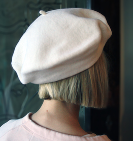 "Berets Limited ""Ines"" White Beret"
