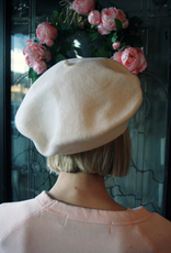 """Berets Limited """"Ines"""" White Beret"""