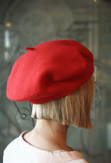 """Berets Limited """"Jacques"""" Red Beret"""